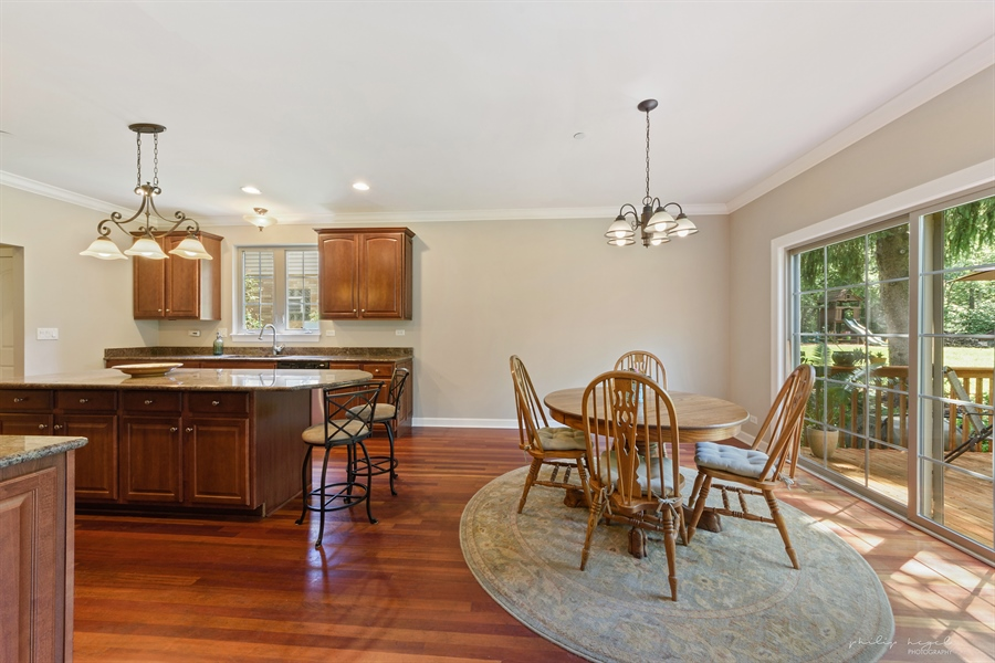 Real Estate Photography - 21530 W Sylvan Dr, Mundelein, IL, 60060 - Kitchen / Breakfast Room