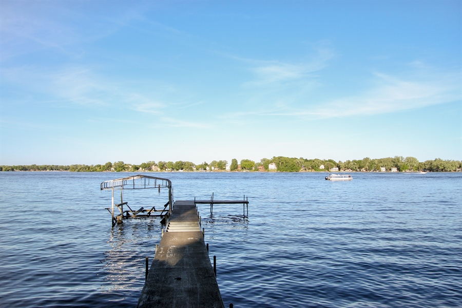 Real Estate Photography - 42675 Woodbine Ave, Antioch, IL, 60002 - Dock