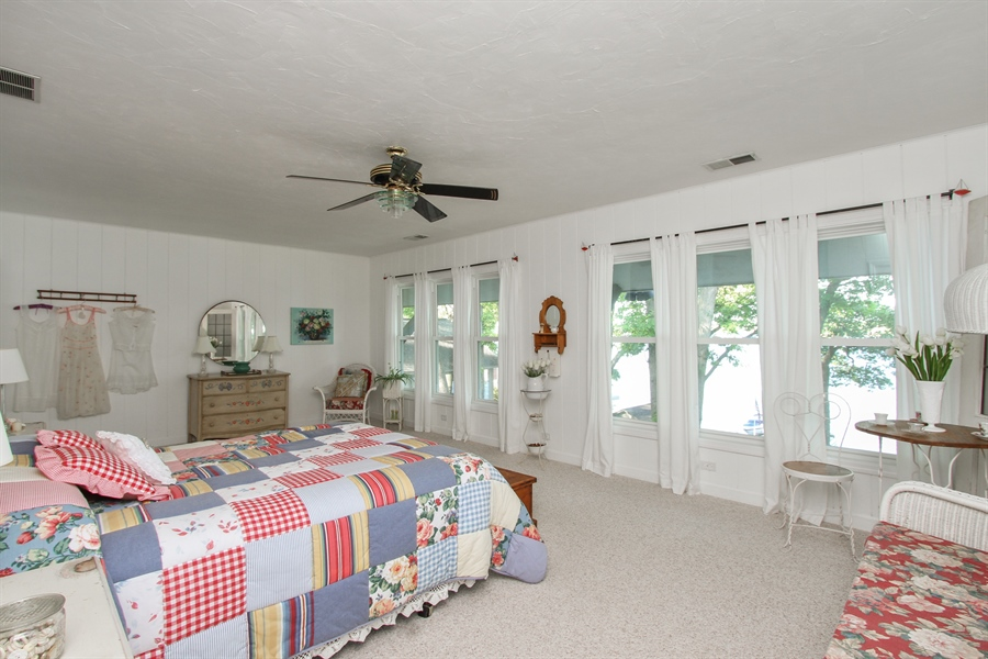 Real Estate Photography - 42675 Woodbine Ave, Antioch, IL, 60002 - Master Bedroom