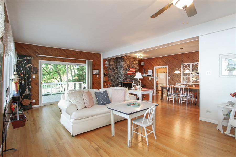Real Estate Photography - 42675 Woodbine Ave, Antioch, IL, 60002 - Great room