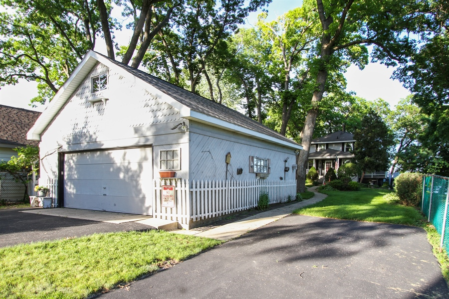 Real Estate Photography - 42675 Woodbine Ave, Antioch, IL, 60002 - Garage