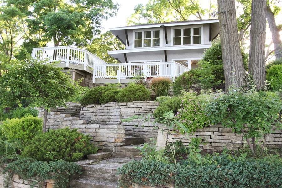 Real Estate Photography - 42675 Woodbine Ave, Antioch, IL, 60002 - Rear View