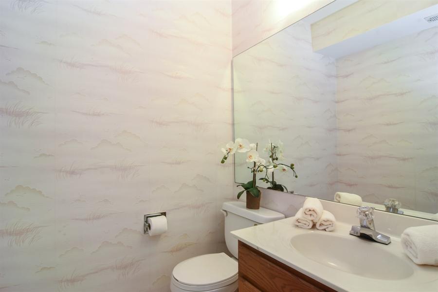 Real Estate Photography - 101 E Harbor Drive, Lake Zurich, IL, 60047 - Half Bath