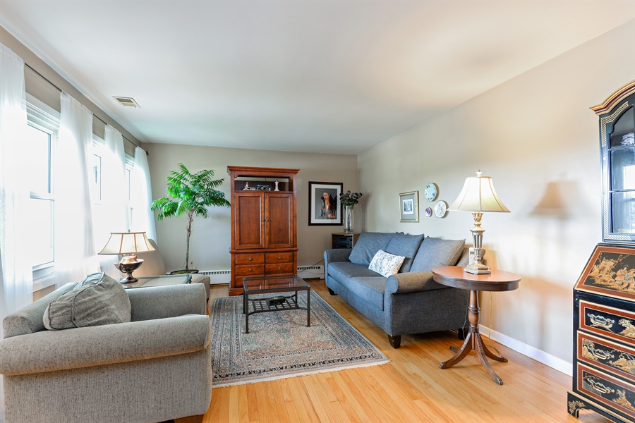 Real Estate Photography - 8206 Springfield Ave, Skokie, IL, 60076 - Living Room