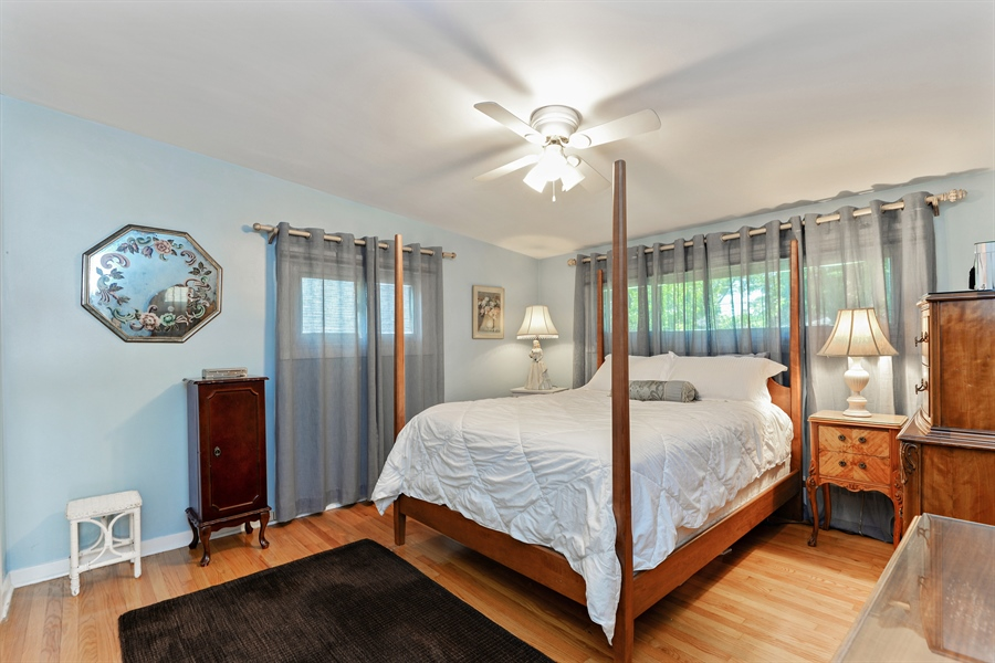 Real Estate Photography - 8206 Springfield Ave, Skokie, IL, 60076 - Master Bedroom