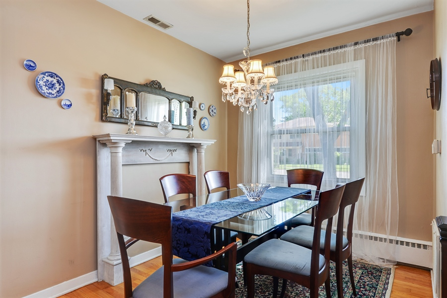 Real Estate Photography - 8206 Springfield Ave, Skokie, IL, 60076 - Dining Room
