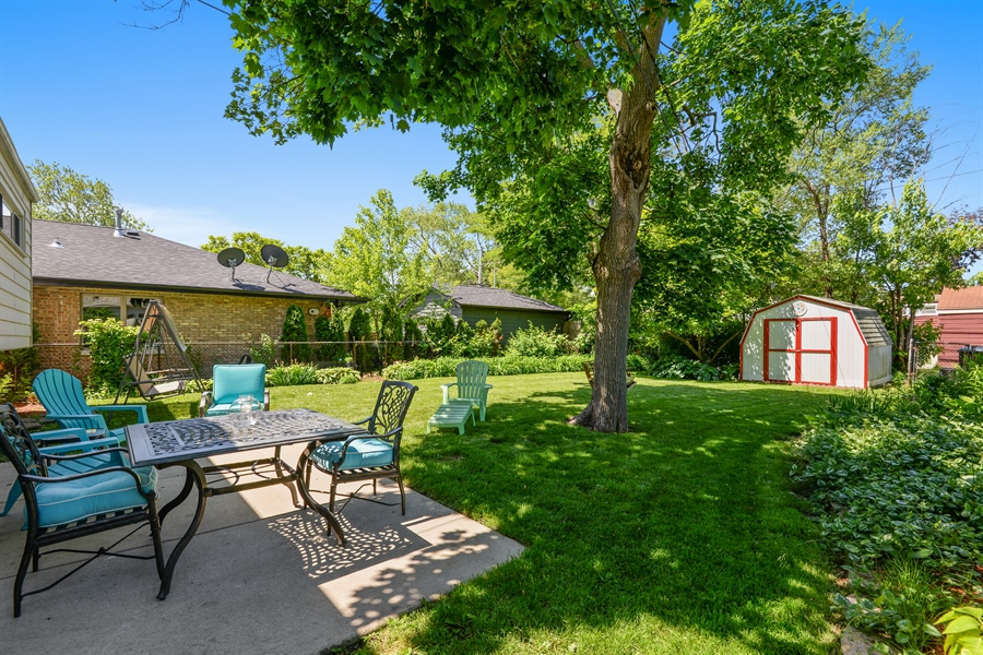Real Estate Photography - 8206 Springfield Ave, Skokie, IL, 60076 - Back Yard