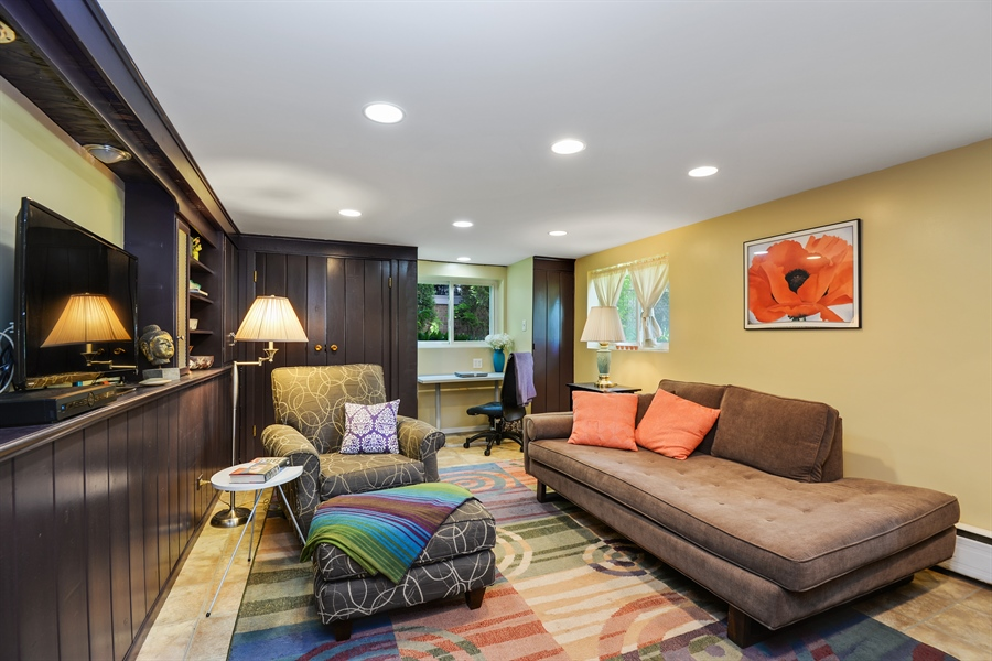 Real Estate Photography - 8206 Springfield Ave, Skokie, IL, 60076 - Family Room