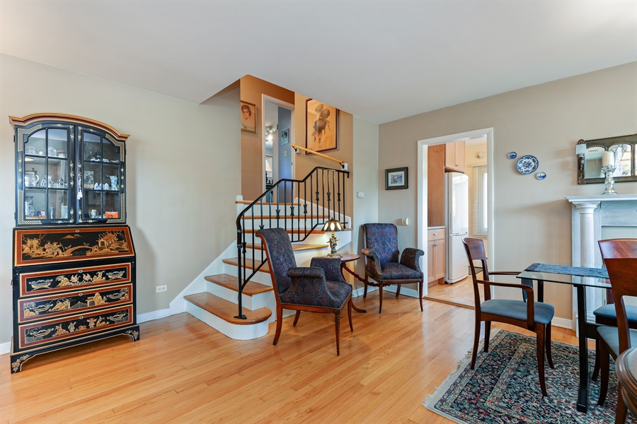 Real Estate Photography - 8206 Springfield Ave, Skokie, IL, 60076 - Staircase