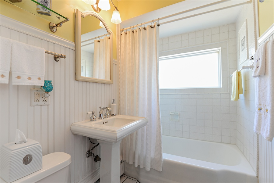 Real Estate Photography - 8206 Springfield Ave, Skokie, IL, 60076 - Bathroom
