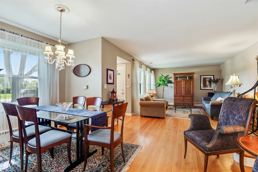 Real Estate Photography - 8206 Springfield Ave, Skokie, IL, 60076 - Living Room / Dining Room