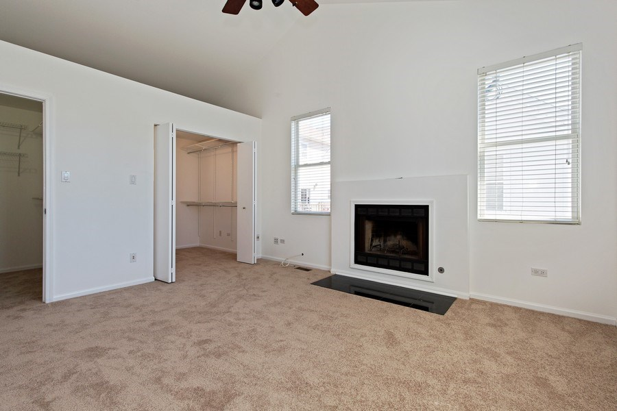 Real Estate Photography - 2847 N Wolcott, Unit #B, Chicago, IL, 60657 - Master Bedroom