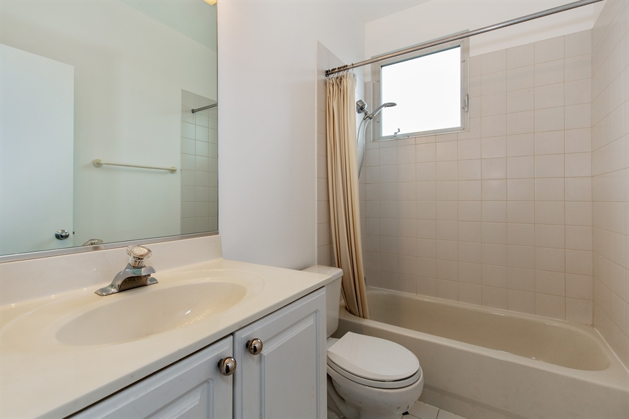 Real Estate Photography - 2847 N Wolcott, Unit #B, Chicago, IL, 60657 - Bathroom