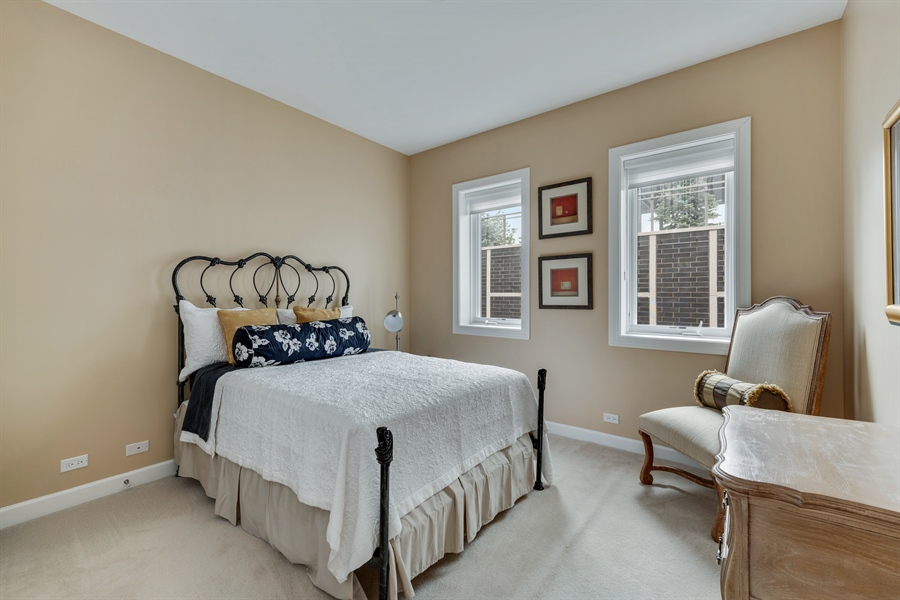 Real Estate Photography - 460 W Superior, Unit 6, Chicago, IL, 60610 - 2nd Bedroom