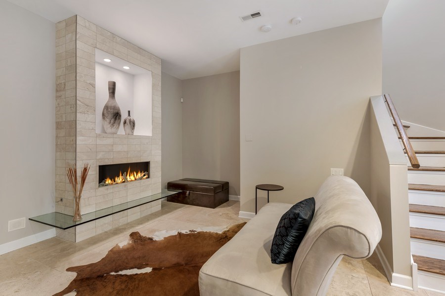 Real Estate Photography - 460 W Superior, Unit 6, Chicago, IL, 60610 - Sitting Room