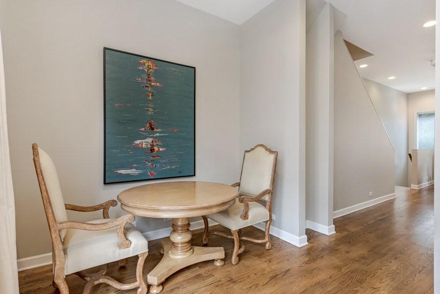 Real Estate Photography - 460 W Superior, Unit 6, Chicago, IL, 60610 - Breakfast Area