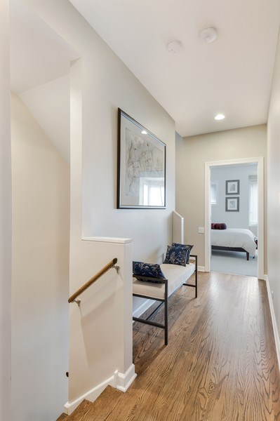 Real Estate Photography - 460 W Superior, Unit 6, Chicago, IL, 60610 - Hallway