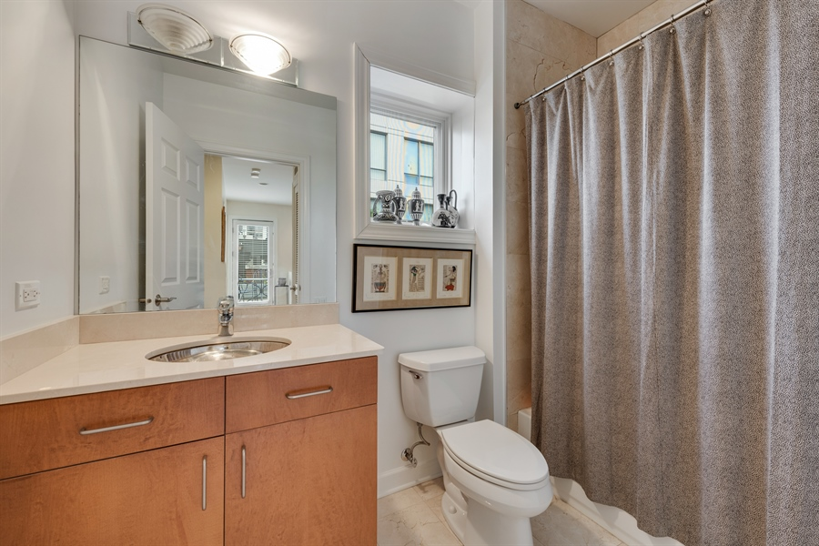 Real Estate Photography - 460 W Superior, Unit 6, Chicago, IL, 60610 - 3rd Bathroom