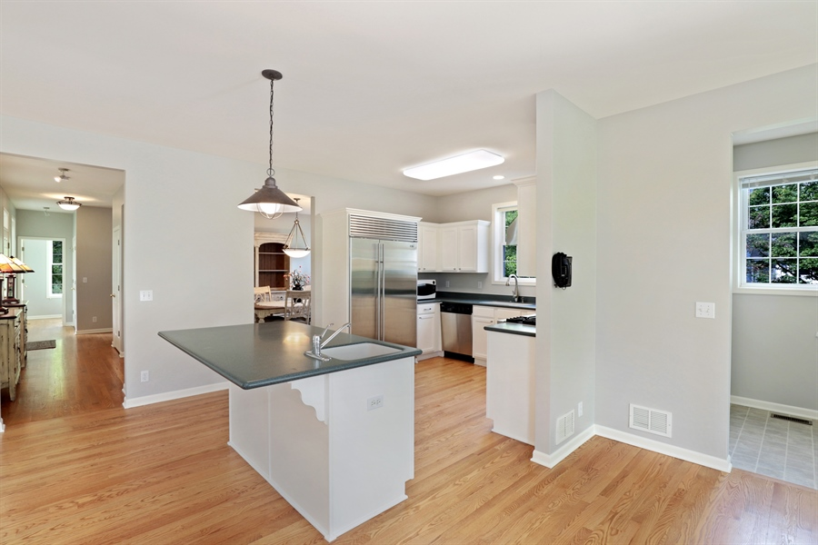 Real Estate Photography - 1128 Hedgerow Dr, Grayslake, IL, 60030 - Kitchen