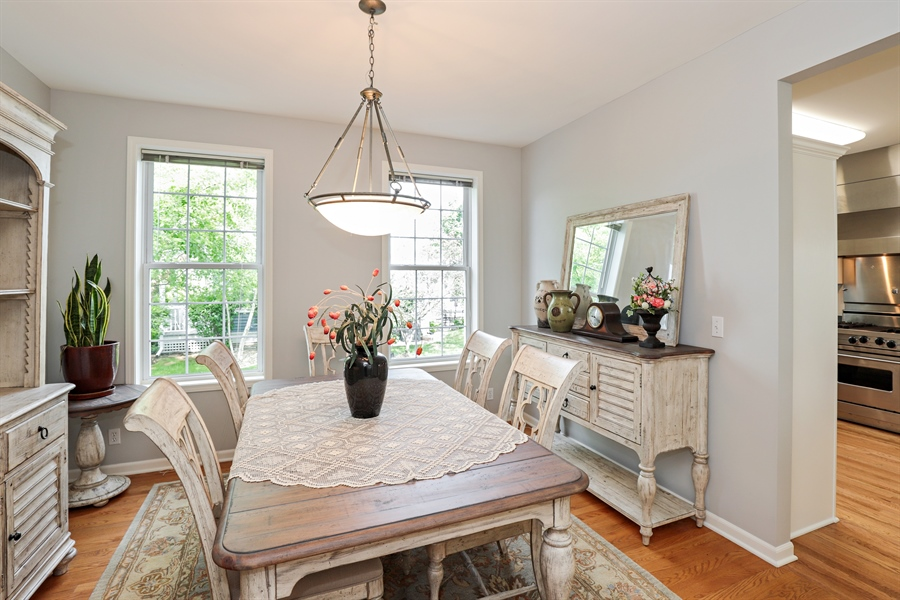 Real Estate Photography - 1128 Hedgerow Dr, Grayslake, IL, 60030 - Dining Room