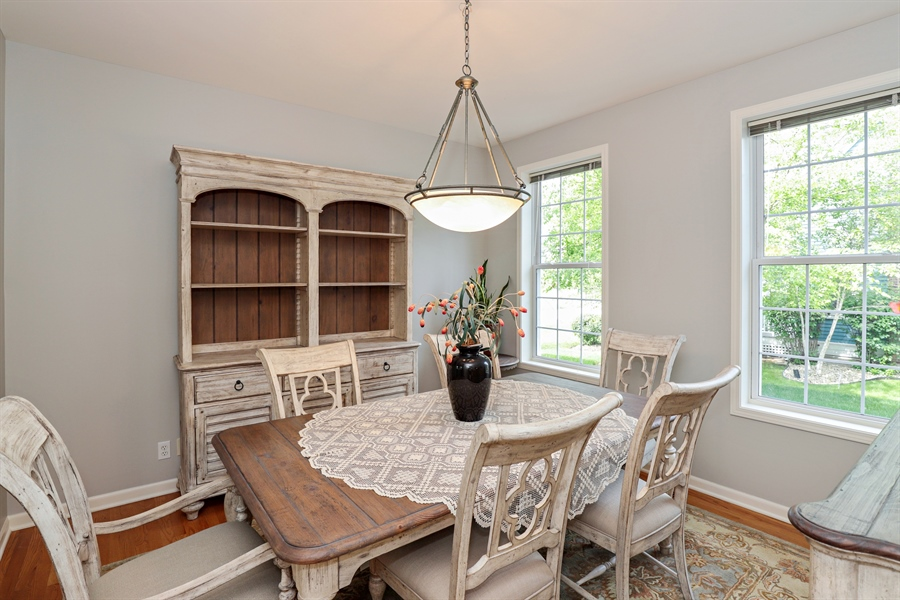 Real Estate Photography - 1128 Hedgerow Dr, Grayslake, IL, 60030 - Dining Area