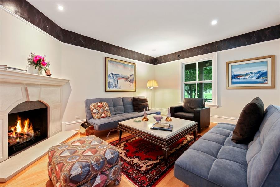 Real Estate Photography - 95 Leonard Wood, Highland Park, IL, 60035 - Living Room