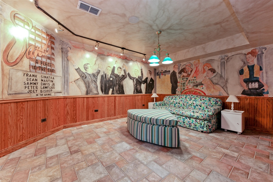 Real Estate Photography - 95 Leonard Wood, Highland Park, IL, 60035 - Recreational Room