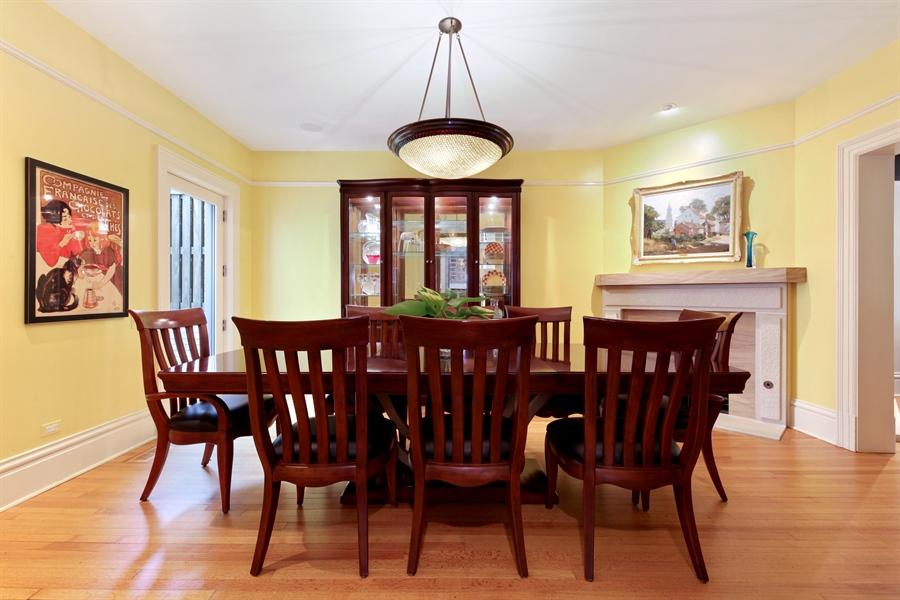 Real Estate Photography - 95 Leonard Wood, Highland Park, IL, 60035 - Dining Room