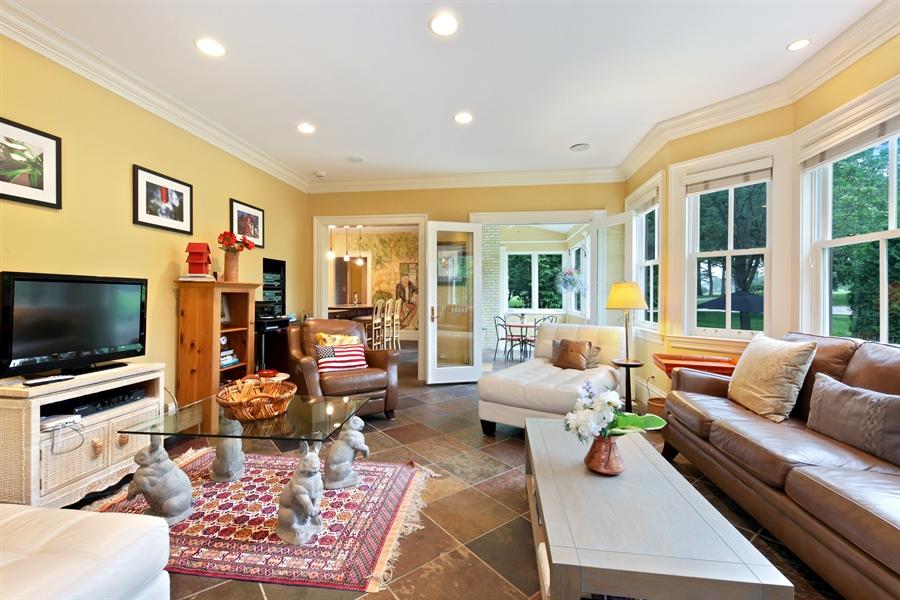 Real Estate Photography - 95 Leonard Wood, Highland Park, IL, 60035 - Family Room
