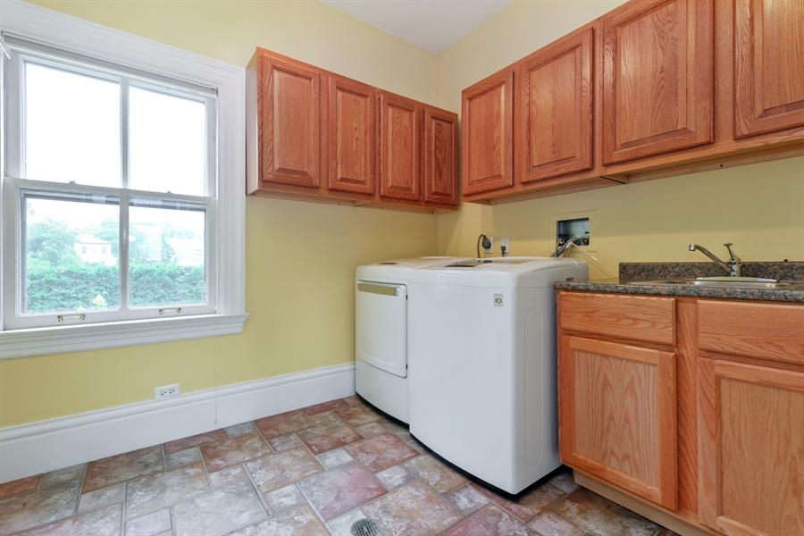 Real Estate Photography - 95 Leonard Wood, Highland Park, IL, 60035 - Laundry Room