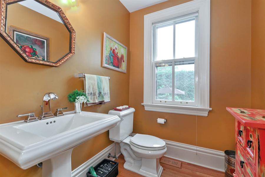 Real Estate Photography - 95 Leonard Wood, Highland Park, IL, 60035 - Half Bath