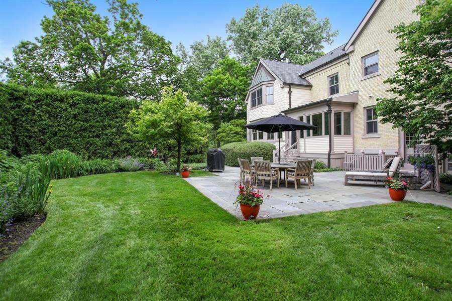 Real Estate Photography - 95 Leonard Wood, Highland Park, IL, 60035 - Patio