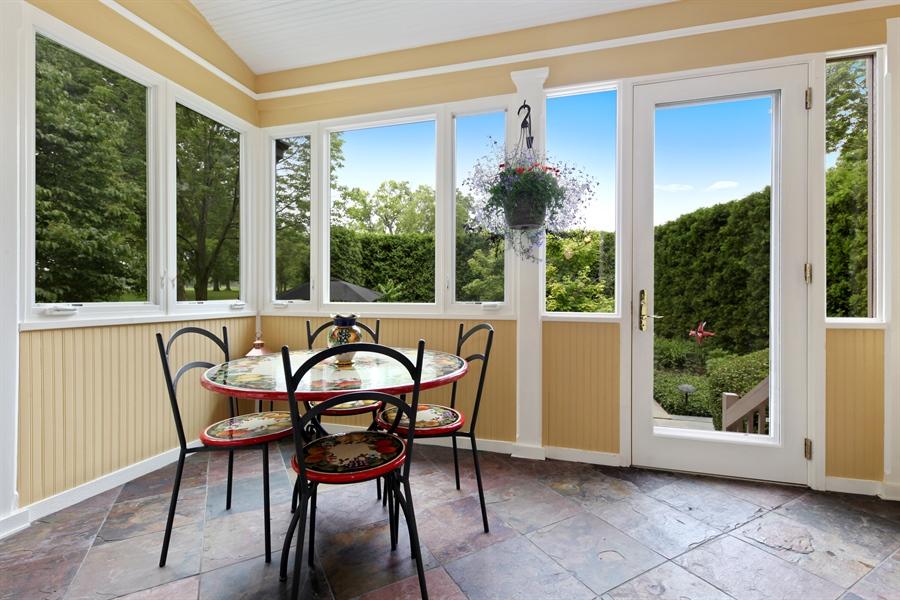 Real Estate Photography - 95 Leonard Wood, Highland Park, IL, 60035 - Sun Room