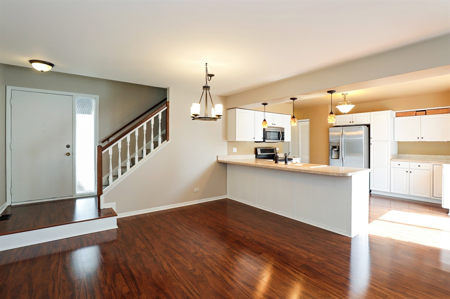Real Estate Photography - 645 Wilbur, Gurnee, IL, 60031 - Dining Room