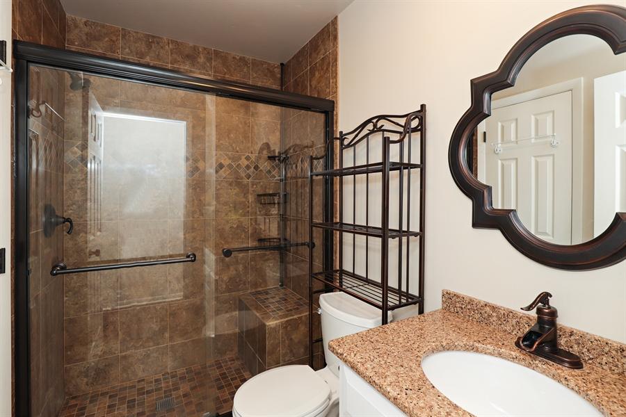 Real Estate Photography - 645 Wilbur, Gurnee, IL, 60031 - 2nd Full Bath on First Floor