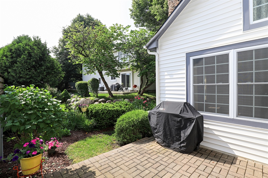 Real Estate Photography - 645 Wilbur, Gurnee, IL, 60031 - Patio