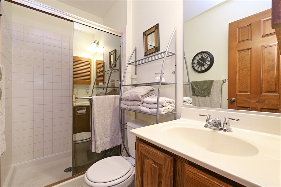 Real Estate Photography - 910 Manley, St Charles, IL, 60174 - Master Bathroom