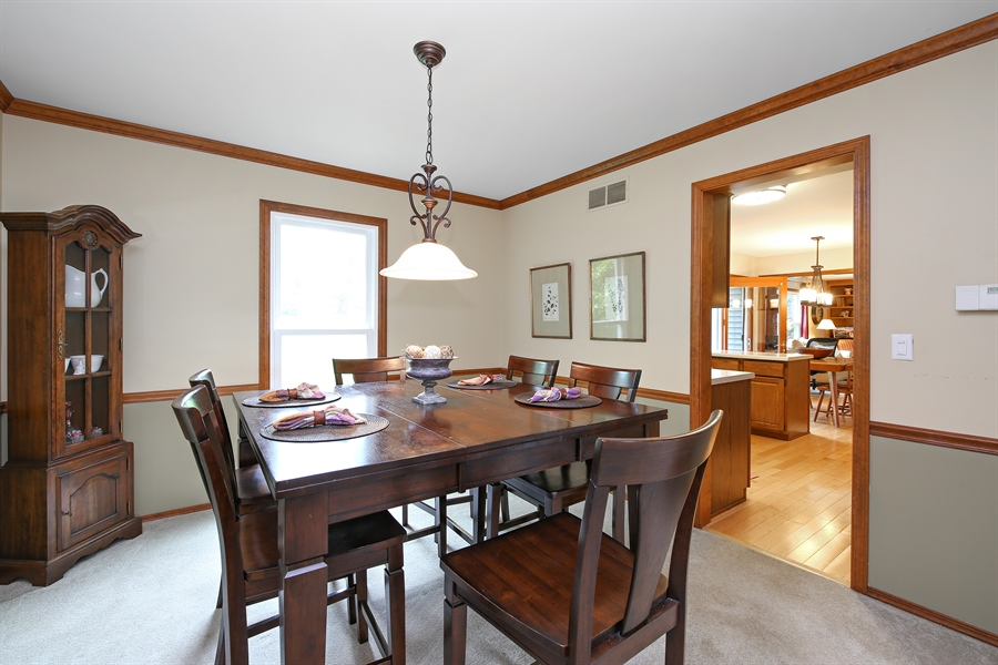 Real Estate Photography - 910 Manley, St Charles, IL, 60174 - Dining Room