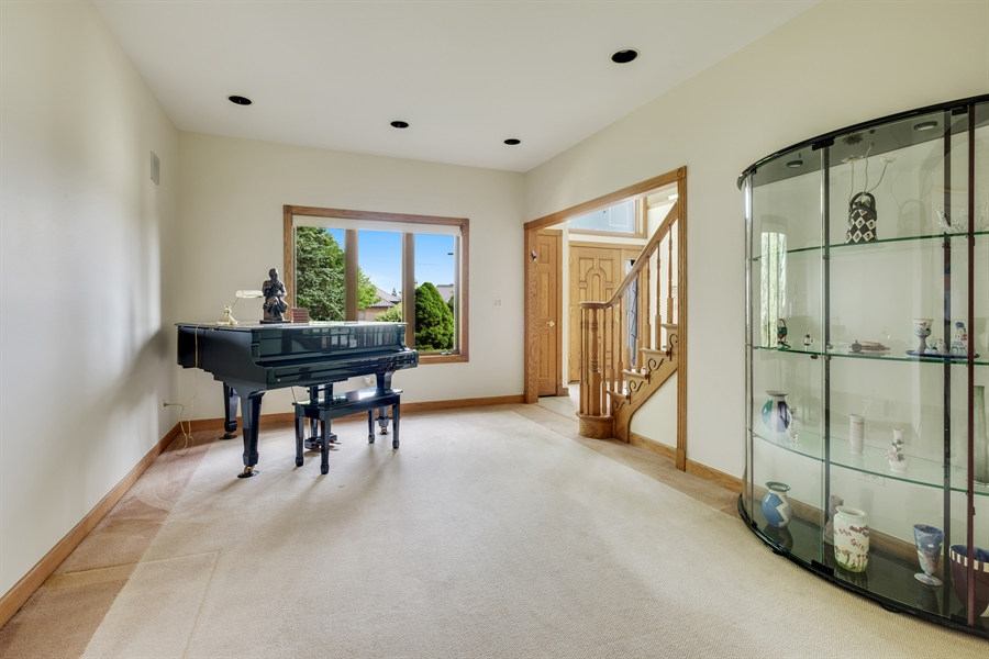 Real Estate Photography - 2323 Old Glenview Rd, Wilmette, IL, 60091 - Living Room