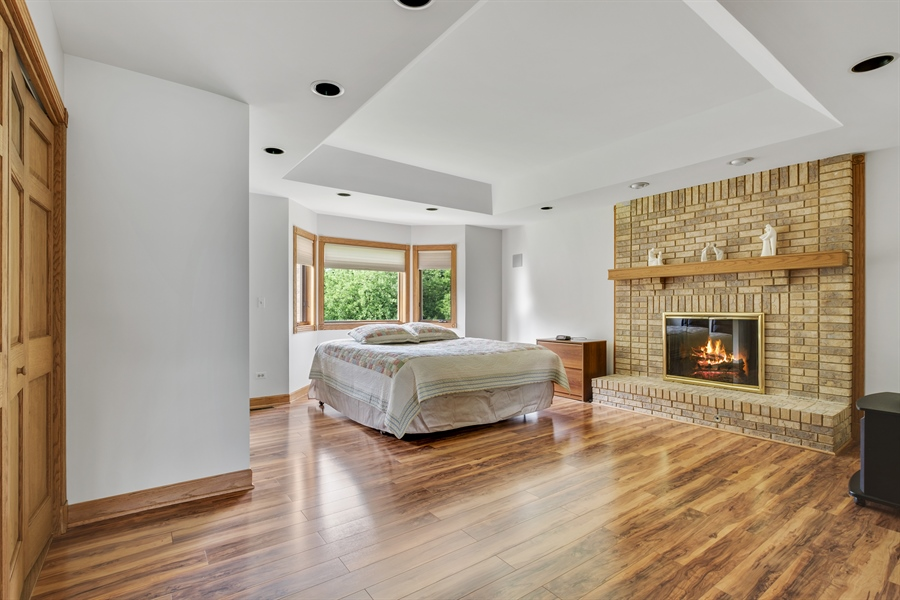 Real Estate Photography - 2323 Old Glenview Rd, Wilmette, IL, 60091 - Master Bedroom