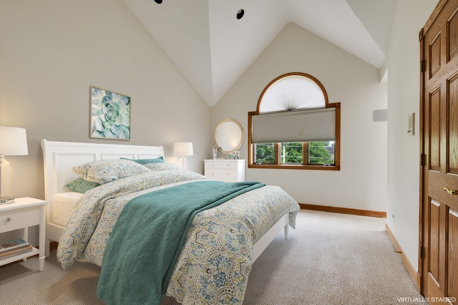 Real Estate Photography - 2323 Old Glenview Rd, Wilmette, IL, 60091 - 2nd Bedroom