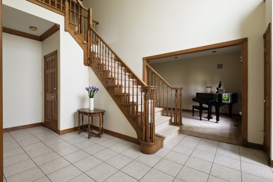 Real Estate Photography - 2323 Old Glenview Rd, Wilmette, IL, 60091 - Foyer