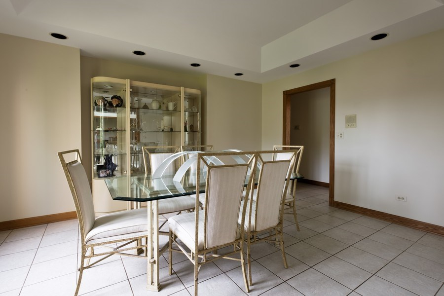 Real Estate Photography - 2323 Old Glenview Rd, Wilmette, IL, 60091 - Dining Room