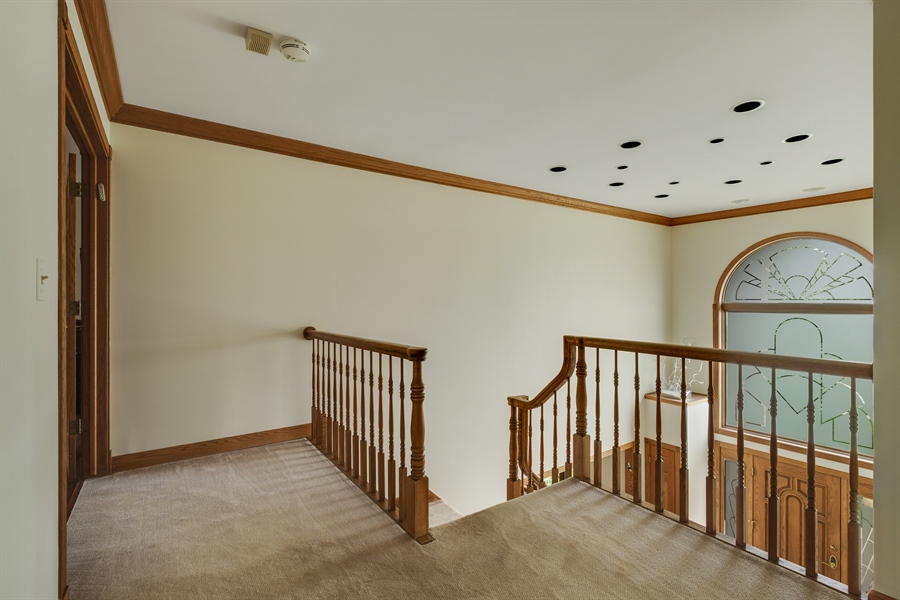 Real Estate Photography - 2323 Old Glenview Rd, Wilmette, IL, 60091 - Staircase