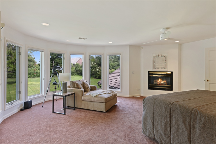 Real Estate Photography - 2389 Tennyson Ln, Highland Park, IL, 60035 - Master Bedroom