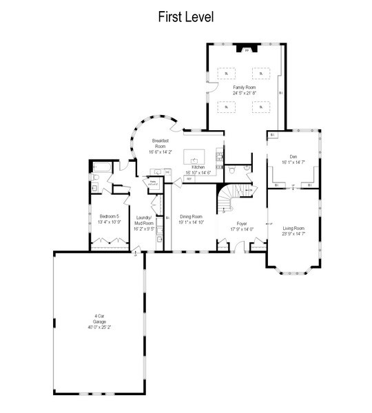 Real Estate Photography - 2389 Tennyson Ln, Highland Park, IL, 60035 - Floor Plan