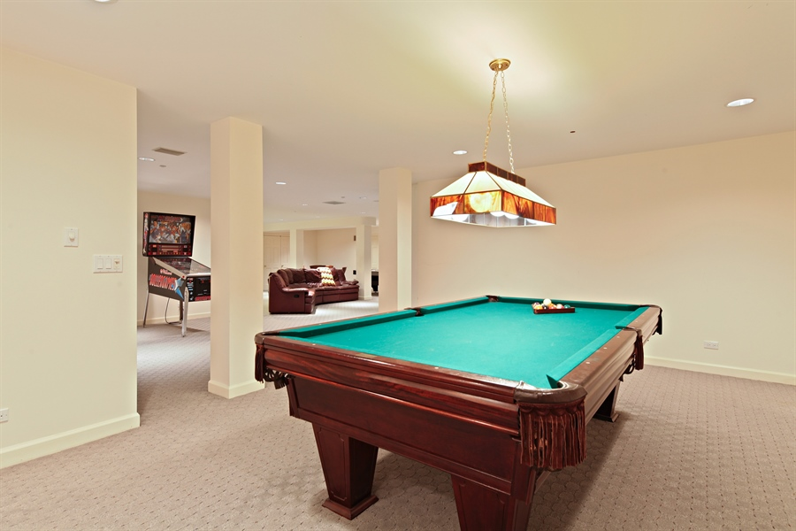 Real Estate Photography - 2389 Tennyson Ln, Highland Park, IL, 60035 - Pool Room