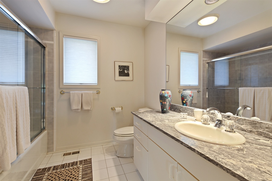 Real Estate Photography - 2389 Tennyson Ln, Highland Park, IL, 60035 - 2nd Bathroom