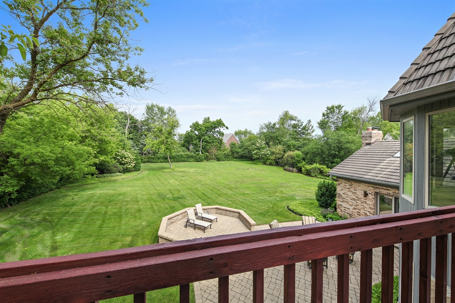 Real Estate Photography - 2389 Tennyson Ln, Highland Park, IL, 60035 - Balcony