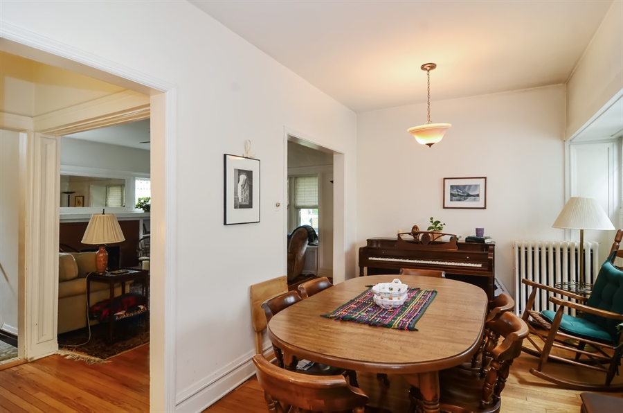 Real Estate Photography - 117 S Taylor, Oak Park, IL, 60302 - Dining Room